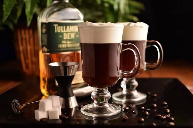 Подача кофе по-ирландски