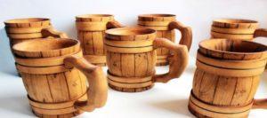Кружка из дерева своими руками для пива и чая