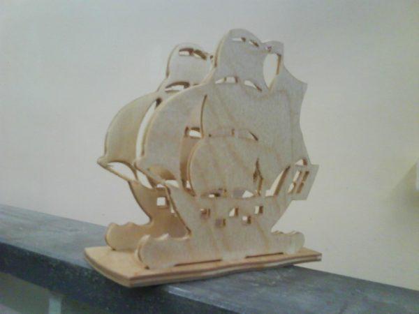 салфетница корабль