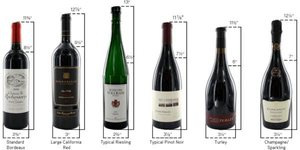 Бутылки для вина.
