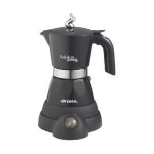 Электрическая гейзерная кофеварка.