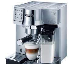 рожковая помповая кофеварка.