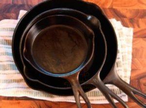 посуда из чугуна для индукционной плиты.