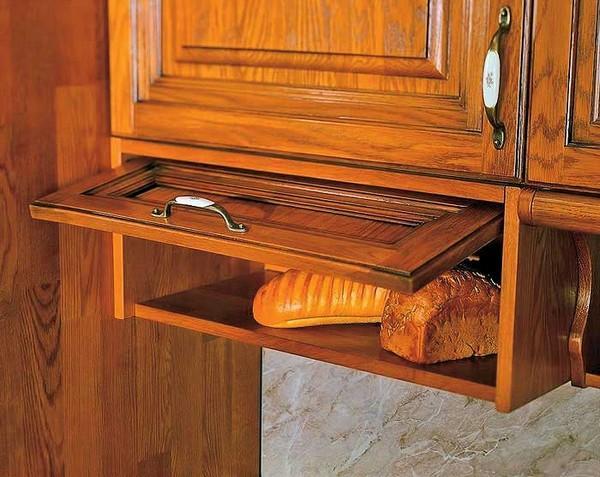 встроенная хлебница.