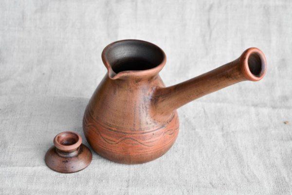 джезва из керамики