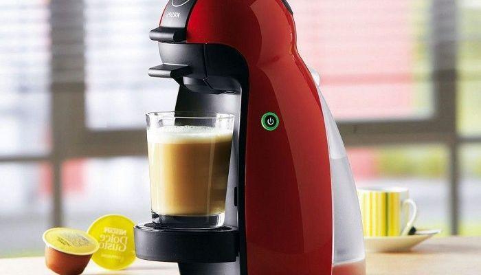Капсульная кофеварка.