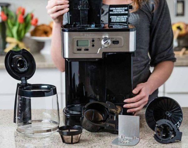 принцип работы кофеварки.