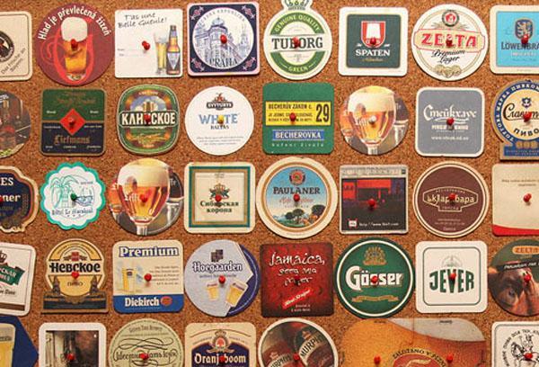 Как называется подставка под пиво, их виды и история создания