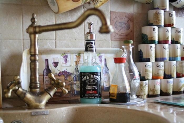 дозатор мыла из бутылки