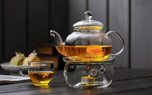 Заварочный чайник с подогревом.