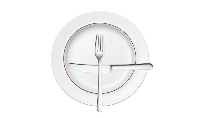 знак: жду следующее блюдо.