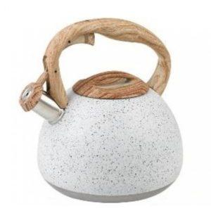Чайник из керамики со свистком.
