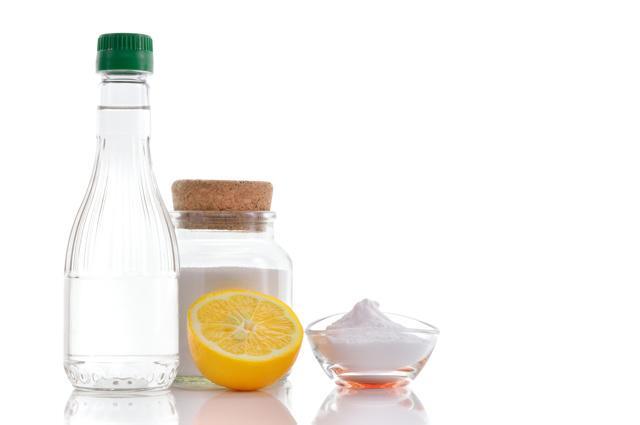 лимонная кислота и сода.