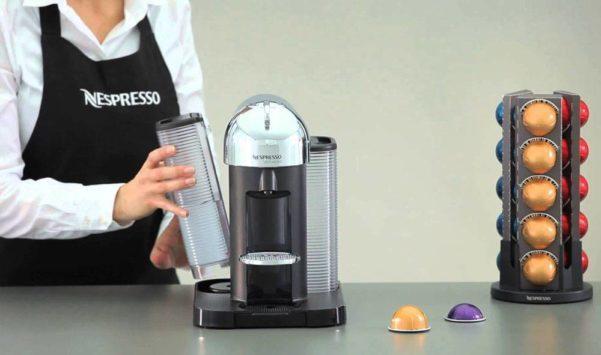 как очистить кофемашину неспрессо.