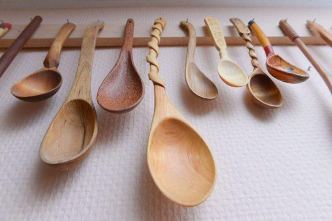 деревянные ложки своими руками.