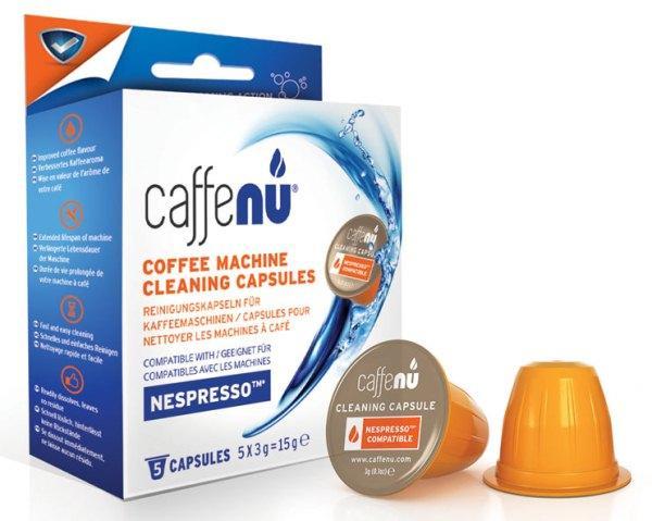 чистка кофемашины таблетками.