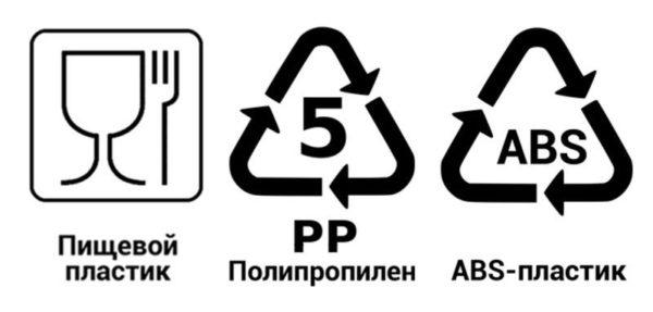 Значки на посуде: расшифровка.