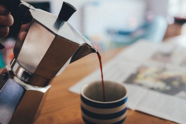 гейзерная кофеварка для газовой плиты.