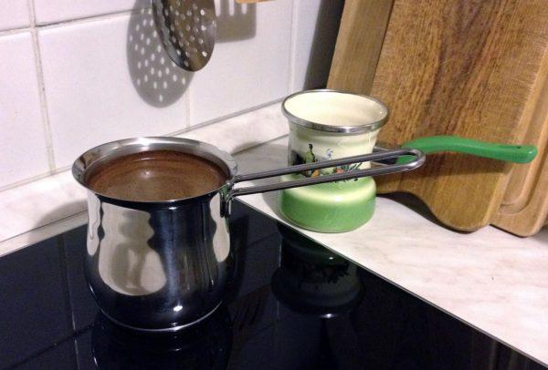 Турка для индукционной плиты.
