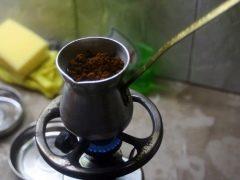 турка для кофе для индукции.