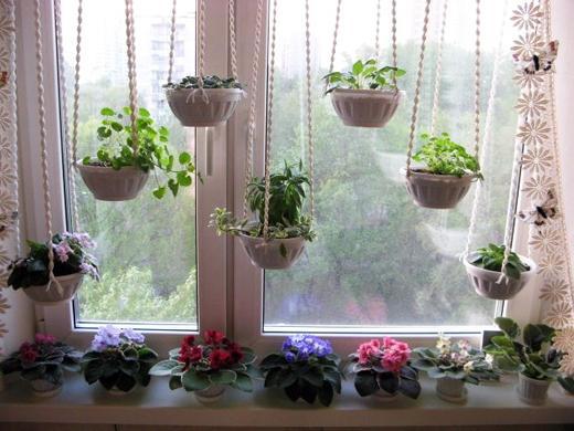 чем украсить окна вместо штор.
