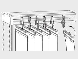вертикальные жалюзи: как снять.