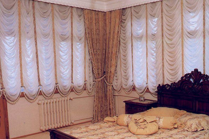 французские шторы.