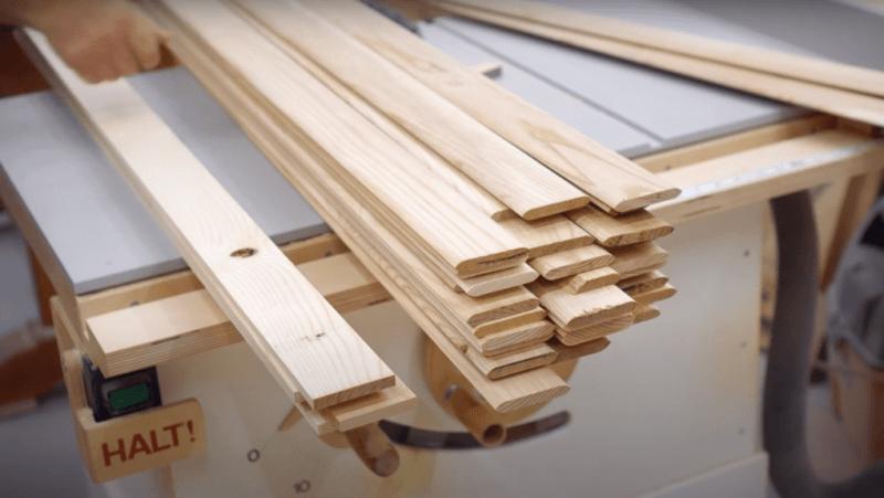 как сделать деревянные жалюзи.