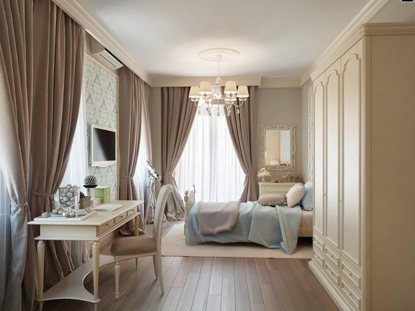 Оформление окна в спальне: 25 идей с фото дизайна современного интерьера шторами