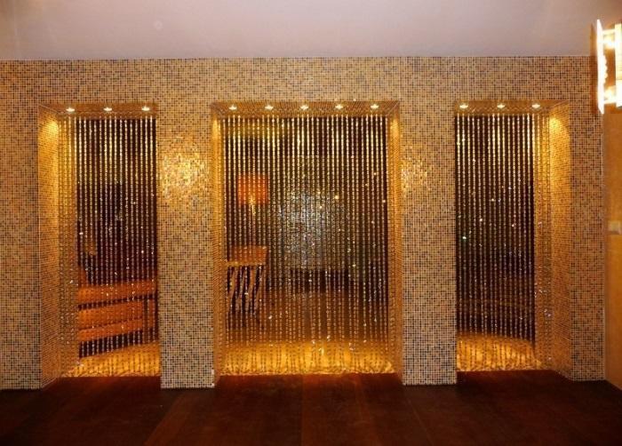 Бамбуковые шторы: 20 фото использования в интерьере