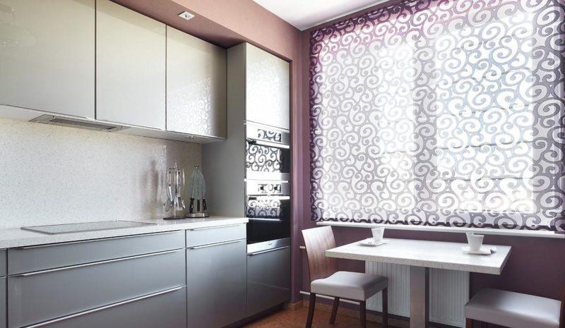 Дизайн окна на кухне: 50 фото вариантов оформления