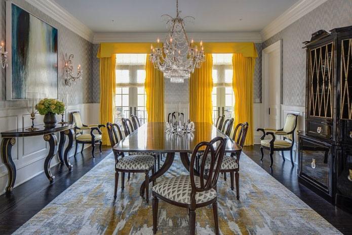 Ламбрекены на кухню: 60 фото штор и идей оформления