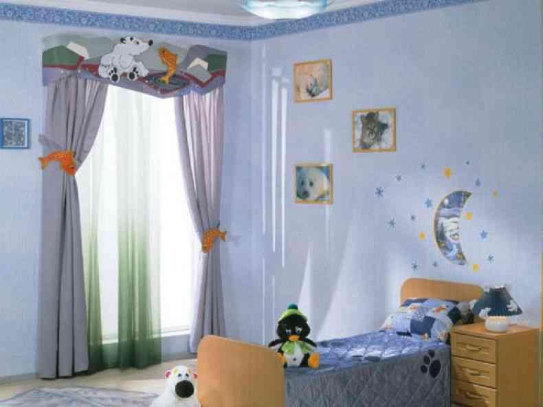 какие шторы выбрать в детскую.