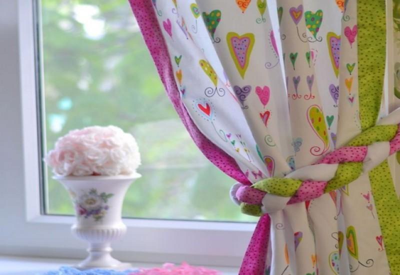 шторы для детской комнаты.