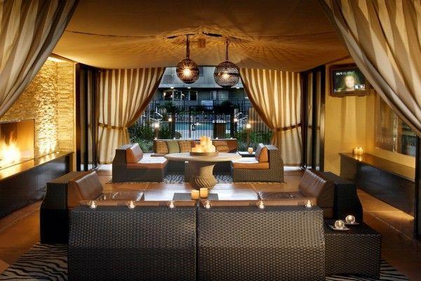 Шторы для ресторана и в кафе: 32 стильные оформления