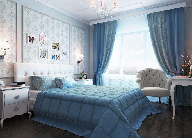 Занавески в спальню: фото идеи, в которых каждая найдет свой вариант