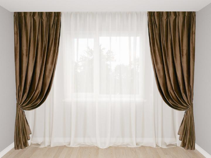 как выбрать шторы в маленькую комнату.