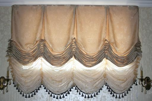 шторы для маленькой спальни.