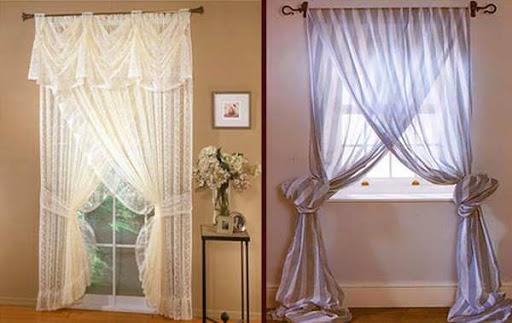 шторы в маленькой спальне.