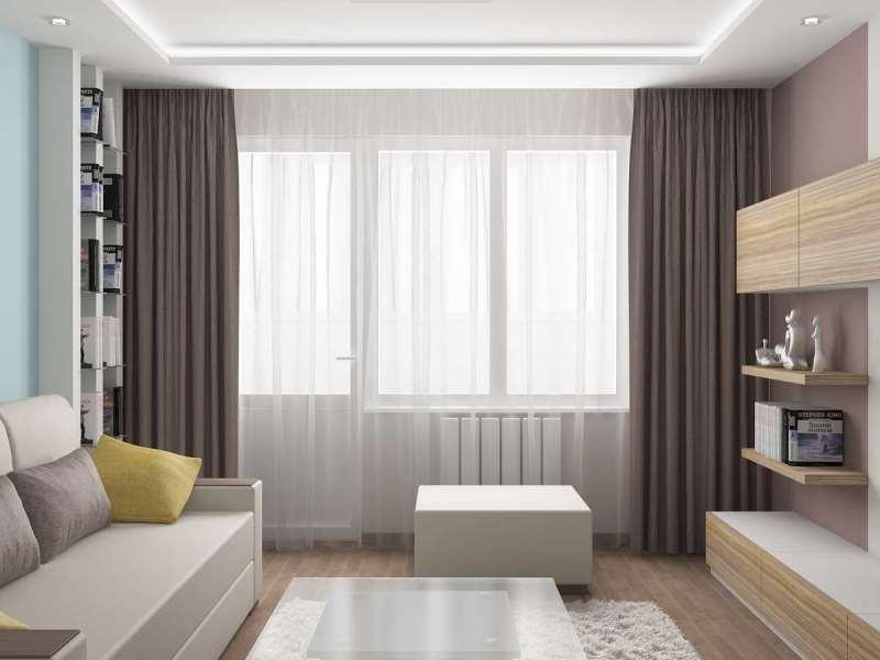как выбрать шторы в маленькую спальню.