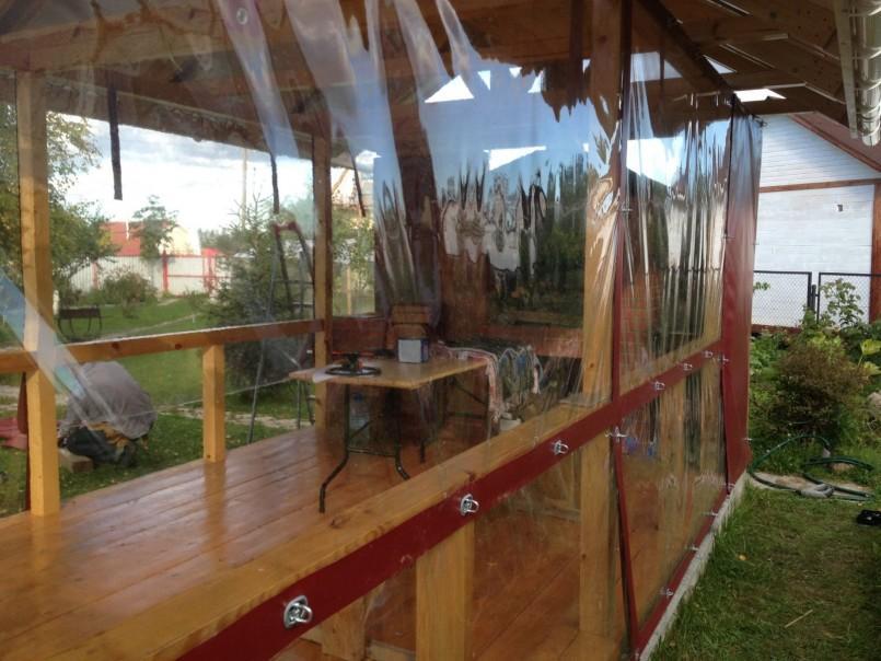 Уличные шторы для беседок и веранд: 8 вариантов защиты от ветра и дождя